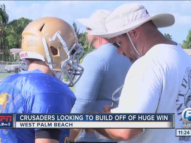 Crusaders Looking to Build Off Huge Win