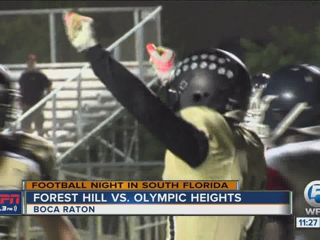 Olympic Heights, Kokell take down Forest Hill