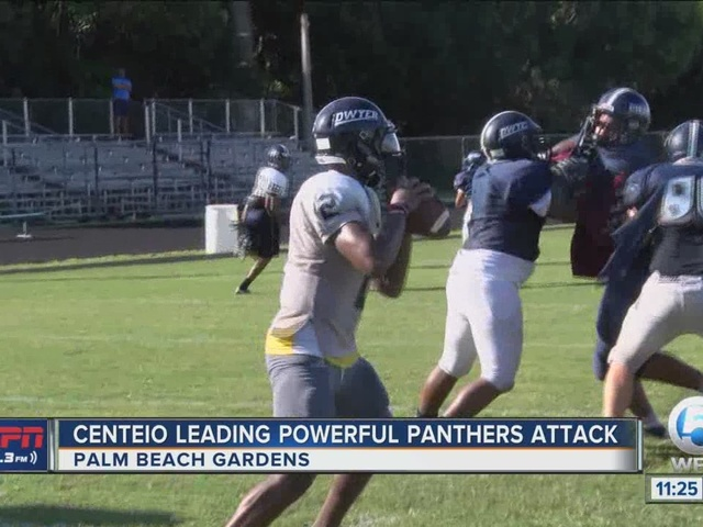 Centeio Leading Powerful Panthers Attack