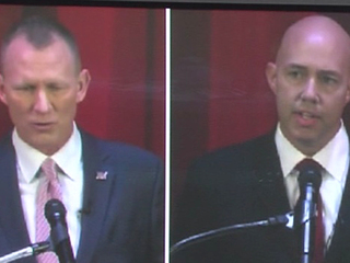 Mast, Perkins debate for District 18 race
