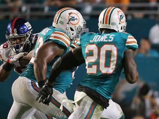 Dolphins' Jones to miss rest of season