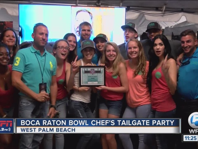 Boca Raton Bowl Chef's Tailgate Party