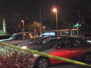 PHOTOS: Cab hit by bullets near WPB Tri-Rail