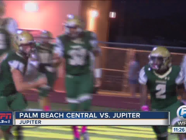Palm Beach Central holds off Jupiter, 31-24