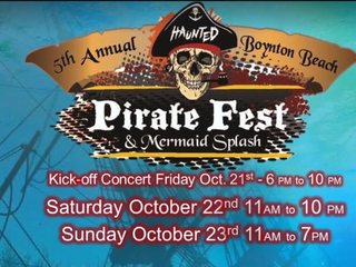 Pirate Fest this weekend in Boynton Beach