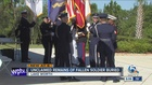 Military burial honors local veterans