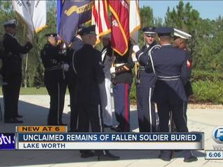 Military burial honors local veterans