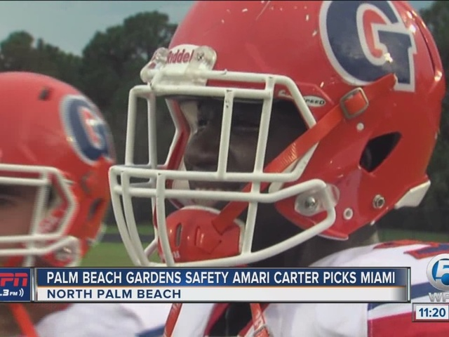 Palm Beach Gardens safety Amari Carter chooses Miami over Notre Dame, others
