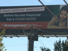 Billboard targets illegal immigrants