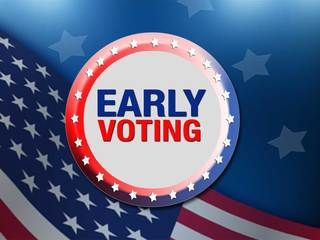 Early voting times, dates & locations