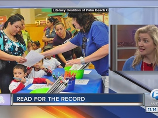 'Read for the Record' tries to break record