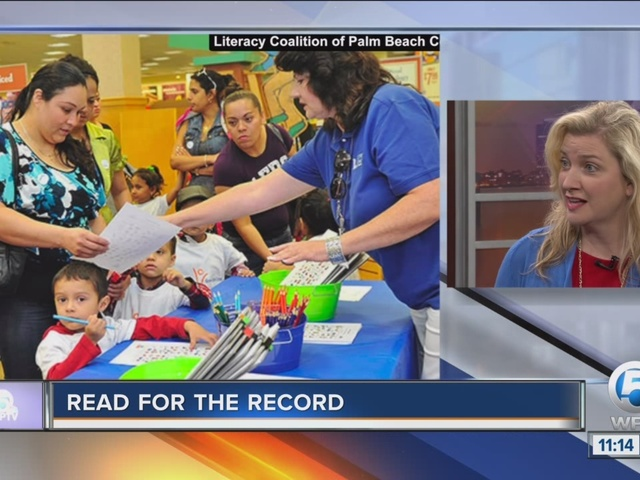 'Read for the Record' event works to break world record