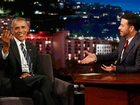 Obama talks about 'mean tweets' on Jimmy Kimmel