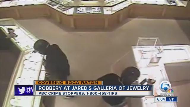 Jared Jewelry Robbery