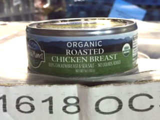 5,610 lbs. of roasted chicken breast recalled