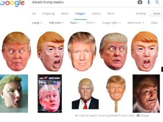 Trump Halloween masks outselling Clinton masks