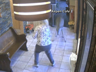 Deer smashes into diner, sends patrons running