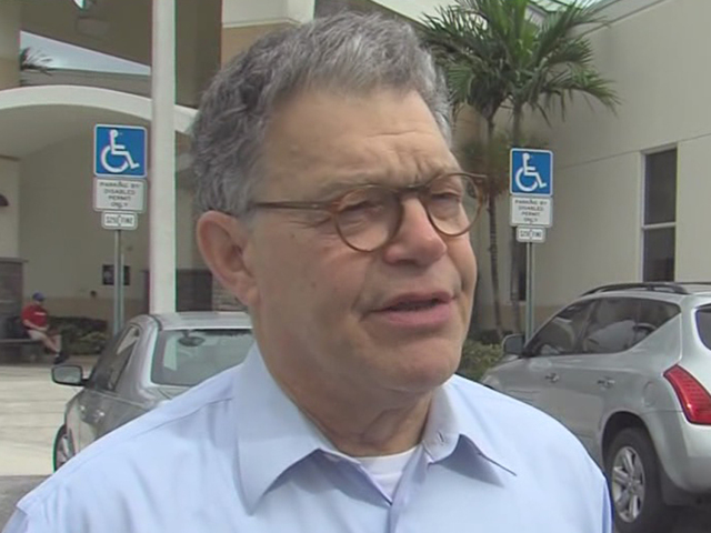 Sen Al Franken visits Palm Beach County to campaign for Hillary Clinton  wp # Wasbak Franken_045041