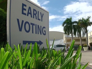 People rush to vote early in Martin County
