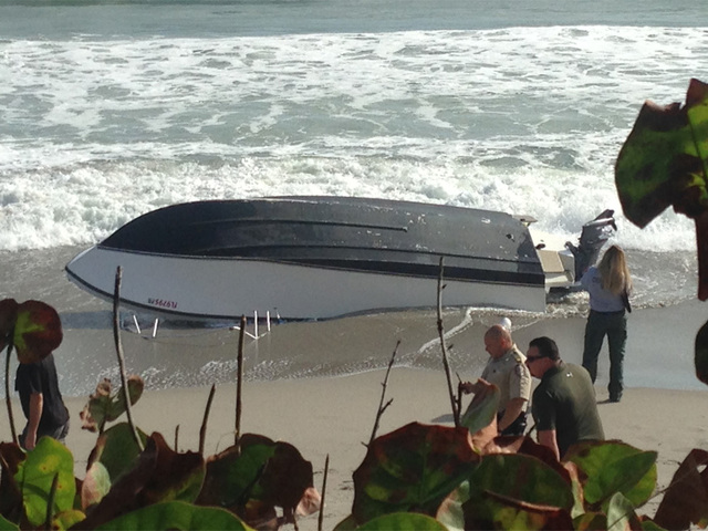 2 boaters die after vessel capsizes near jupiter inlet for Jupiter inlet fishing