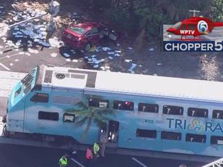 PHOTOS: Driver hit, killed by Tri-Rail train