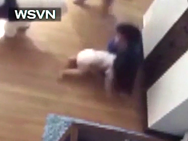 Boy makes heroic catch as baby brother falls from table