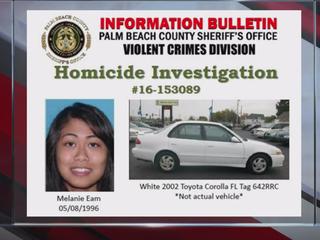 PHOTOS: Woman sought in Loxahatchee homicide