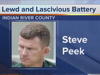 Ex-deputy faces lewd & lascivious battery counts