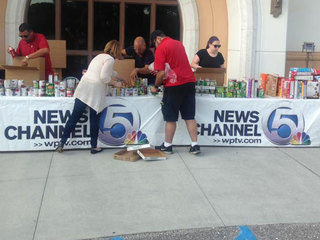 PHOTOS: Food for Families food drive at WPTV