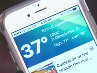 South Florida residents greeted with cold temps