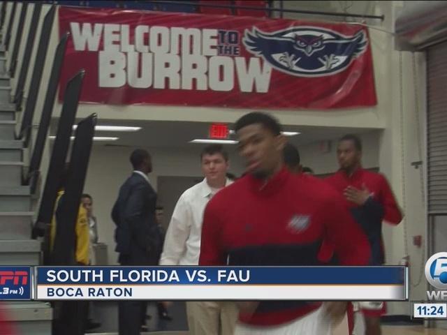 FAU Wins Home Opener