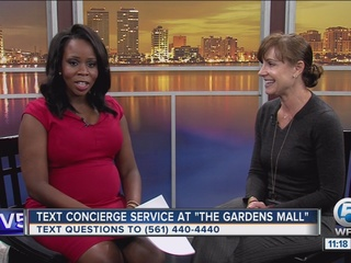 Text concierge service offered at Gardens Mall