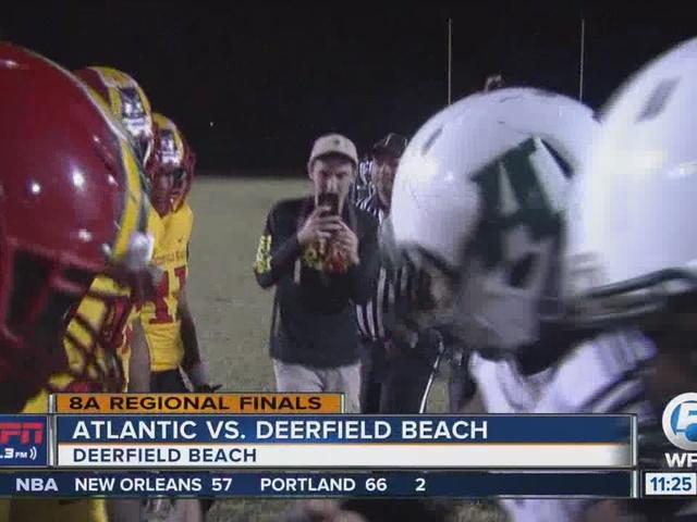 Atlantic Falls to Deerfield Beach in regional final