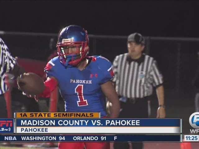 Pahokee Advances To State Final With Win Over Madison County
