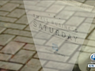 Stores embracing 'Small Business Saturday'