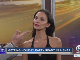 Get holiday party ready in a snap