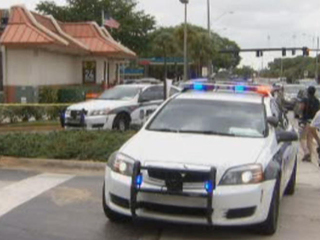 Police-involved shooting at Broward McDonald's