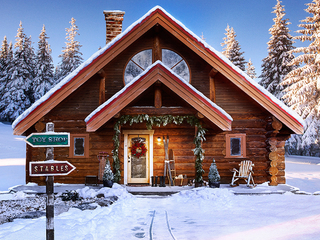 Santa's North Pole house listed on Zillow