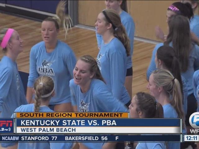 PBA Volleyball Tops Kentucky State