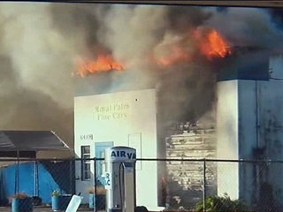 Fire destroys business in Martin County