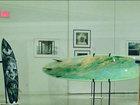 Surfboard art exhibit in Lake Worth