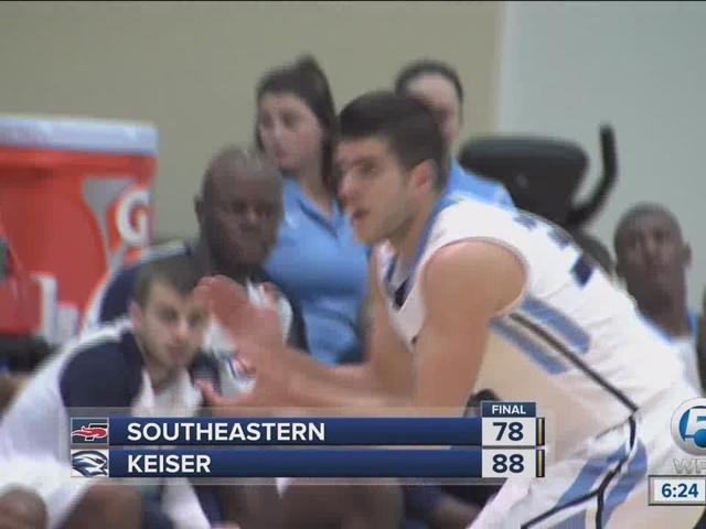 #20 Keiser downs RV Southeastern, 88-78