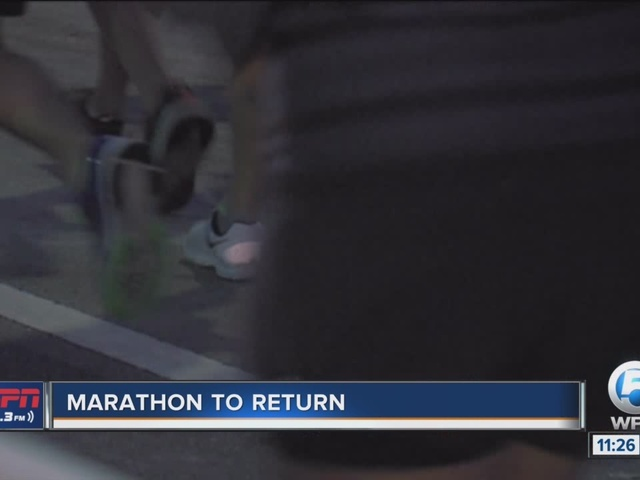 Palm Beaches Marathon Returns