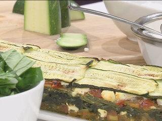 Zucchini Spanakopita recipe (12/5/16)