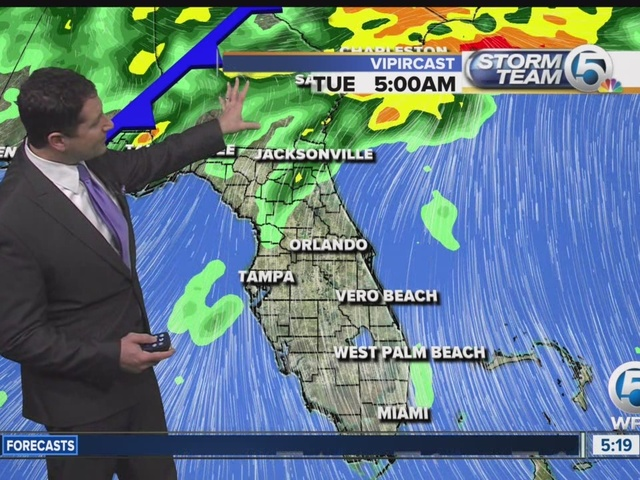 South Florida weather 12/6/16 - 5:15a report