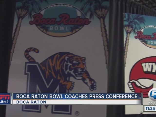 Boca Raton Bowl Coaches Press Conference