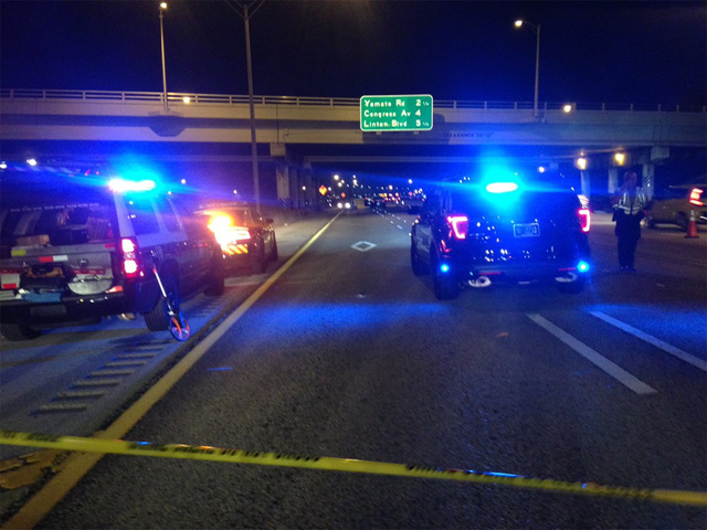 Deadly crash blocks I-95 NB lanes in Boca Raton