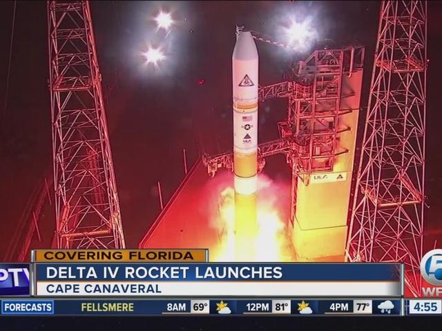 Cape rocket launch