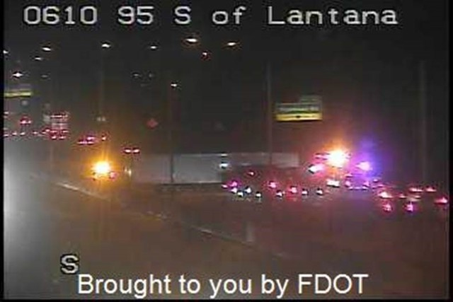 BREAKING: Jackknifed semi truck on I-95 SB