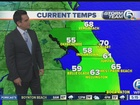 Cloudy and windy weekend, showers